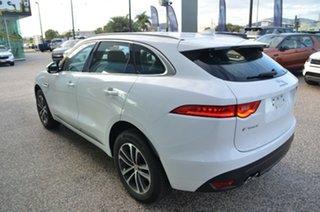 2019 Jaguar F-PACE X761 R-Sport Fuji White 8 Speed Automatic SUV.