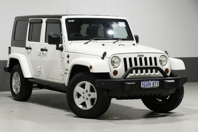Used Jeep Wrangler Unlimited JK MY09 Sport (4x4), 2010 Jeep Wrangler Unlimited JK MY09 Sport (4x4) White 4 Speed Automatic Softtop
