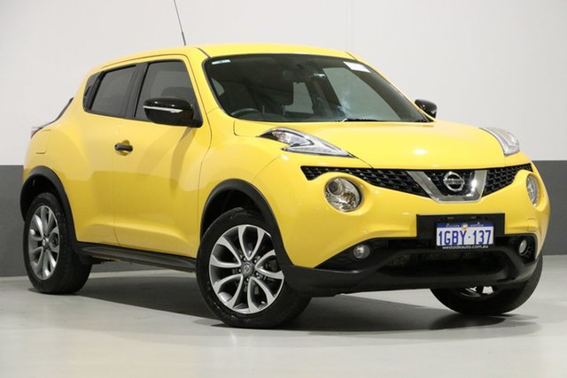 Used Nissan Juke F15 Series 2 ST N-TEC (FWD), 2016 Nissan Juke F15 Series 2 ST N-TEC (FWD) Yellow Continuous Variable Wagon
