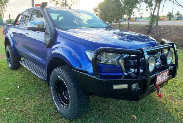 Used Ford Ranger PX MkII XLT Super Cab, 2015 Ford Ranger PX MkII XLT Super Cab Blue 6 Speed Sports Automatic Utility