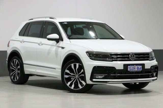 Used Volkswagen Tiguan 5NA 162 TSI Highline, 2017 Volkswagen Tiguan 5NA 162 TSI Highline White 7 Speed Auto Direct Shift Wagon