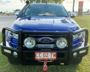 2015 Ford Ranger PX MkII XLT Super Cab Blue 6 Speed Sports Automatic Utility