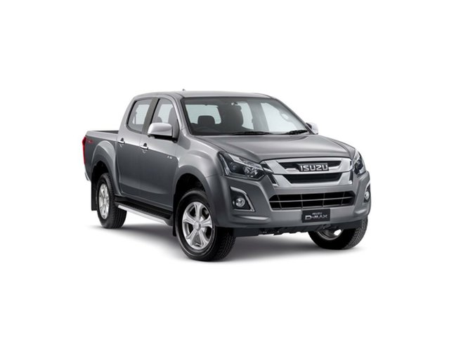 New Isuzu D-MAX MY19 LS-U Crew Cab, 2019 Isuzu D-MAX MY19 LS-U Crew Cab Graphite Grey 6 Speed Sports Automatic Utility