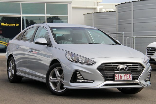 Used Hyundai Sonata LF4 MY19 Active, 2019 Hyundai Sonata LF4 MY19 Active Silver 6 Speed Sports Automatic Sedan