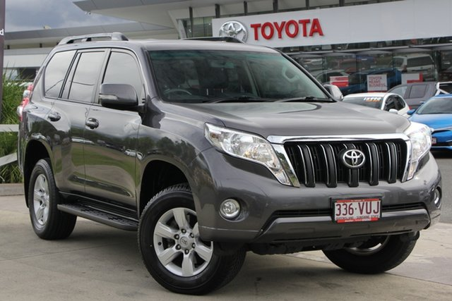 Used Toyota Landcruiser Prado KDJ150R MY14 GXL, 2015 Toyota Landcruiser Prado KDJ150R MY14 GXL Graphite 5 Speed Sports Automatic Wagon