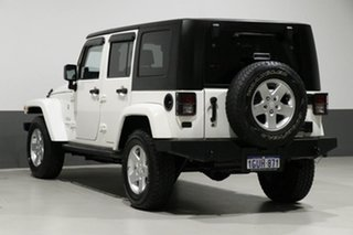 2010 Jeep Wrangler Unlimited JK MY09 Sport (4x4) White 4 Speed Automatic Softtop