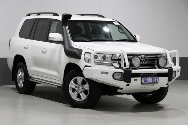 Used Toyota Landcruiser VDJ200R MY16 GXL (4x4), 2016 Toyota Landcruiser VDJ200R MY16 GXL (4x4) White 6 Speed Automatic Wagon