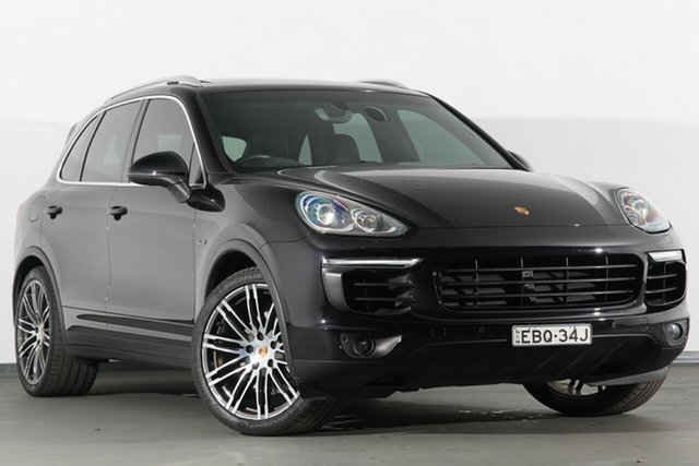 Used Porsche Cayenne 92A MY15 S Tiptronic Diesel, 2015 Porsche Cayenne 92A MY15 S Tiptronic Diesel Black 8 Speed Sports Automatic SUV