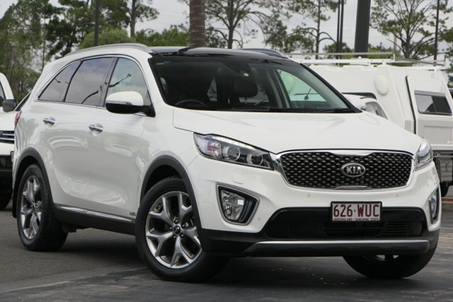 Used Kia Sorento UM MY16 Platinum AWD, 2016 Kia Sorento UM MY16 Platinum AWD White 6 Speed Sports Automatic Wagon