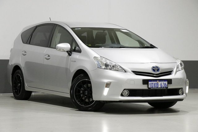 Used Toyota Prius v ZVW40R Hybrid, 2012 Toyota Prius v ZVW40R Hybrid Silver Continuous Variable Wagon