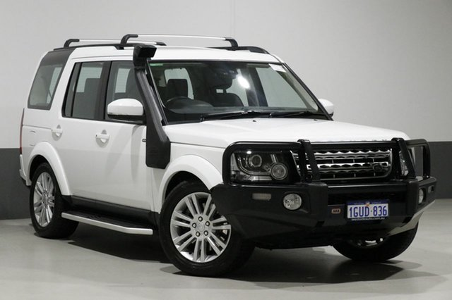 Used Land Rover Discovery LC MY16.5 SDV6 HSE, 2016 Land Rover Discovery LC MY16.5 SDV6 HSE White 8 Speed Automatic Wagon