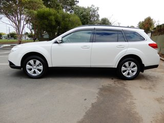 2009 Subaru Outback B5A MY10 2.5i AWD White 6 Speed Manual Wagon