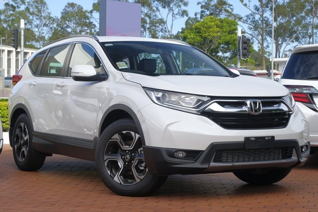 New Honda CR-V RW MY19 VTi-E FWD, 2019 Honda CR-V RW MY19 VTi-E FWD White Orchid 1 Speed Constant Variable Wagon