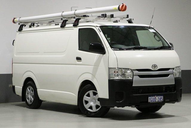 Used Toyota HiAce KDH201R MY16 LWB, 2017 Toyota HiAce KDH201R MY16 LWB White 4 Speed Automatic Van