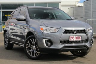 2016 Mitsubishi ASX XB MY15.5 LS 2WD Titanium Grey 6 Speed Constant Variable Wagon.