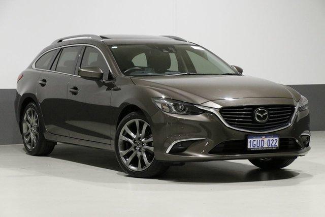 Used Mazda 6 6C MY15 Atenza, 2015 Mazda 6 6C MY15 Atenza Grey 6 Speed Automatic Wagon