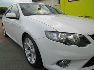 2011 Ford Falcon FG MkII XR6 Turbo White 6 Speed Sports Automatic Sedan