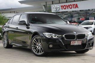 2016 BMW 320d F30 LCI M Sport Black 8 Speed Sports Automatic Sedan.