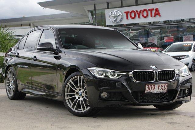 Used BMW 320d F30 LCI M Sport, 2016 BMW 320d F30 LCI M Sport Black 8 Speed Sports Automatic Sedan