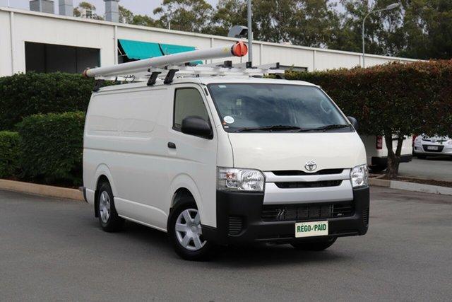 Used Toyota HiAce KDH201R LWB, 2017 Toyota HiAce KDH201R LWB French Vanilla 4 Speed Automatic Van