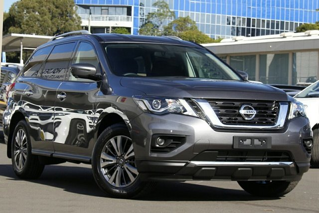 New Nissan Pathfinder R52 Series III MY19 ST+ X-tronic 2WD, 2019 Nissan Pathfinder R52 Series III MY19 ST+ X-tronic 2WD Gun Metallic 1 Speed Constant Variable