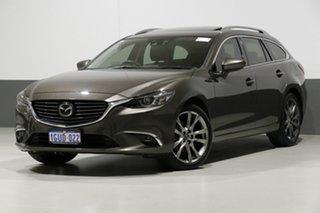 2015 Mazda 6 6C MY15 Atenza Grey 6 Speed Automatic Wagon.
