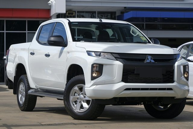 New Mitsubishi Triton MR MY19 GLX Plus (4x4), 2018 Mitsubishi Triton MR MY19 GLX Plus (4x4) White 6 Speed Manual Double Cab Pickup