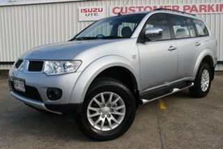 2010 Mitsubishi Challenger PB (KH) MY10 LS Silver 5 Speed Manual Wagon.
