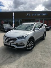 2017 Hyundai Santa Fe DM5 MY18 Elite Platinum Silver 6 Speed Sports Automatic Wagon.