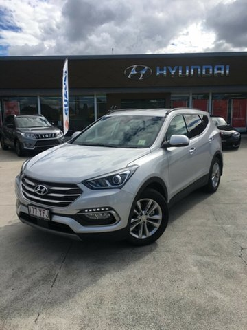 Demo Hyundai Santa Fe DM5 MY18 Elite, 2017 Hyundai Santa Fe DM5 MY18 Elite Platinum Silver 6 Speed Sports Automatic Wagon