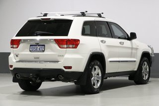 2011 Jeep Grand Cherokee WK Overland (4x4) White 5 Speed Automatic Wagon