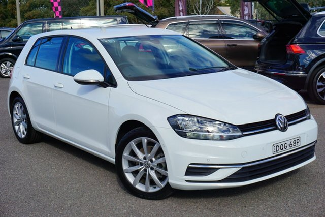 Used Volkswagen Golf 7.5 MY17 110TSI DSG Comfortline, 2017 Volkswagen Golf 7.5 MY17 110TSI DSG Comfortline White 7 Speed Sports Automatic Dual Clutch