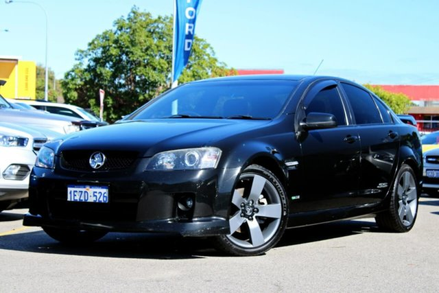 Used Holden Commodore VE MY10 SS V, 2010 Holden Commodore VE MY10 SS V Black 6 Speed Sports Automatic Sedan