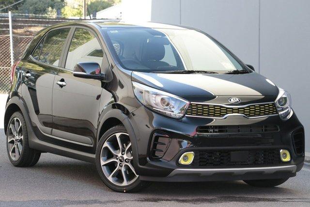 New Kia Picanto JA MY19 X-Line, 2019 Kia Picanto JA MY19 X-Line Aurora Black 4 Speed Automatic Hatchback