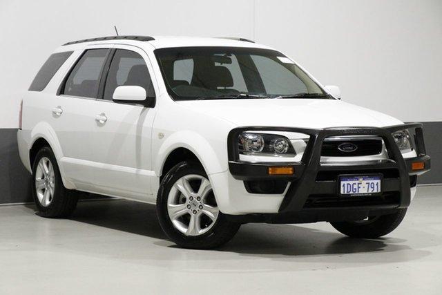 Used Ford Territory SY MkII TX (RWD), 2010 Ford Territory SY MkII TX (RWD) White 4 Speed Auto Seq Sportshift Wagon