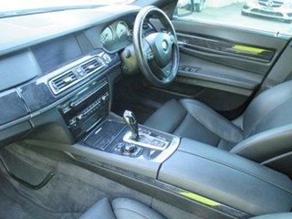 2009 BMW 750Li F02 MY10 LWB Steptronic Silver 6 Speed Sports Automatic Sedan