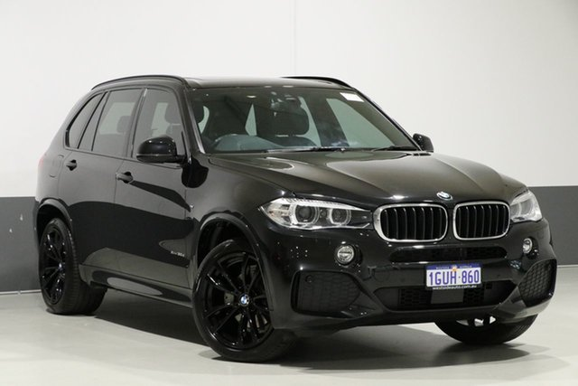 Used BMW X5 F15 MY16 xDrive 30D, 2018 BMW X5 F15 MY16 xDrive 30D Black 8 Speed Automatic Wagon