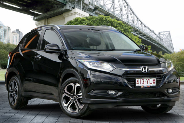 Used Honda HR-V MY15 VTi-L, 2015 Honda HR-V MY15 VTi-L Black 1 Speed Constant Variable Hatchback