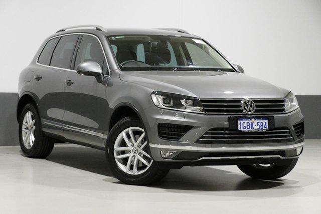 Used Volkswagen Touareg 7P MY16 150 TDI Element, 2016 Volkswagen Touareg 7P MY16 150 TDI Element Grey 8 Speed Automatic Wagon