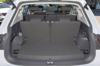 2018 Volkswagen Tiguan 5N MY18 110TSI DSG 2WD Comfortline White Silver 6 Speed