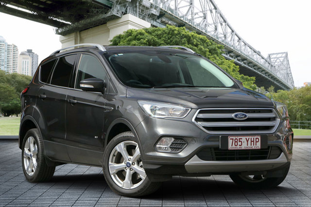 Used Ford Escape ZG 2018.00MY Trend PwrShift AWD, 2018 Ford Escape ZG 2018.00MY Trend PwrShift AWD Grey 6 Speed Sports Automatic Dual Clutch Wagon