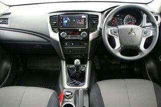 2020 Mitsubishi Triton MR MY20 GLX+ Double Cab White 6 Speed Manual Utility