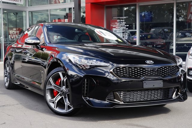 New Kia Stinger CK MY20 GT Fastback, 2020 Kia Stinger CK MY20 GT Fastback Aurora Black 8 Speed Sports Automatic Sedan