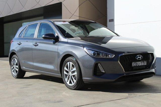 Demo Hyundai i30  Active, 2018 Hyundai i30 Active Iron Gray 6 Speed Automatic Hatchback