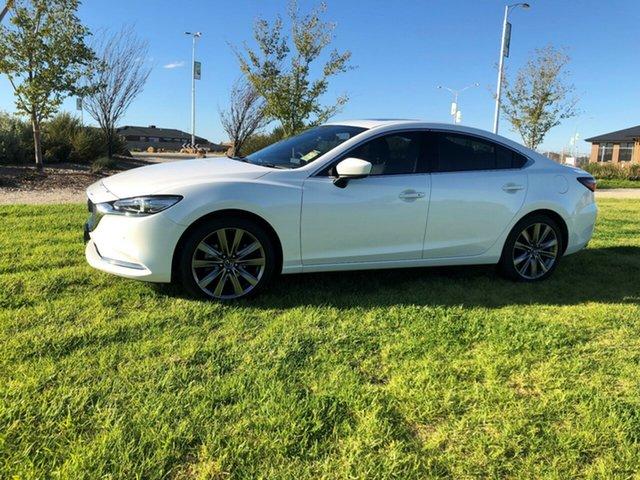 Demo Mazda 6  , Mazda 6 ATENZA White 6 Speed Automatic Sedan