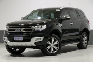 2015 Ford Everest UA Titanium Black 6 Speed Automatic Wagon.
