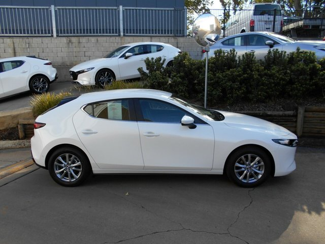 Demo Mazda 3 BP2H7A G20 SKYACTIV-Drive Pure, 2019 Mazda 3 BP2H7A G20 SKYACTIV-Drive Pure 6 Speed Sports Automatic Hatchback