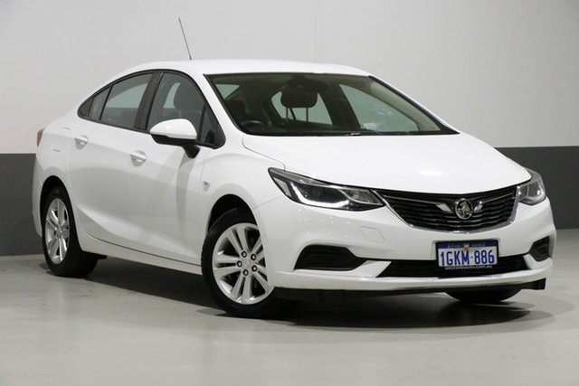 Used Holden Astra BL MY17 LS Plus, 2017 Holden Astra BL MY17 LS Plus White 6 Speed Automatic Sedan