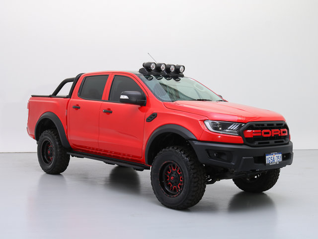 Used Ford Ranger PX XLT 3.2 (4x4), 2014 Ford Ranger PX XLT 3.2 (4x4) Red 6 Speed Manual Dual Cab Utility