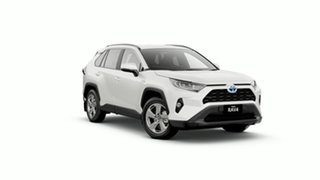 2020 Toyota RAV4 Axah54R GXL eFour Crystal Pearl 6 Speed Constant Variable Wagon Hybrid.